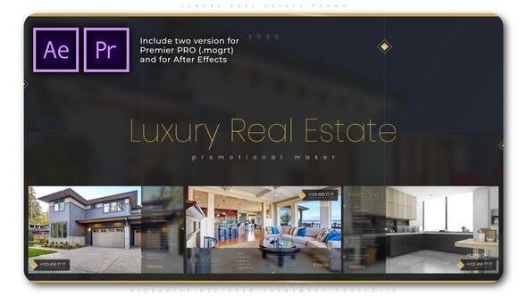 پروژه پریمیر با موزیک تبلیغات آژانس املاک و فروش منزل Luxury Real Estate Promo