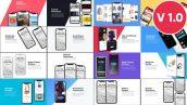 پروژه پریمیر با موزیک تبلیغات در قالب موبایل Smartphone Presentation