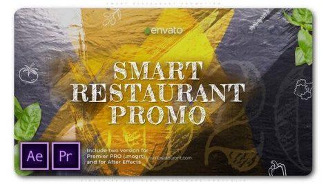 پروژه پریمیر با موزیک تبلیغات معرفی رستوران Smart Restaurant Promotion