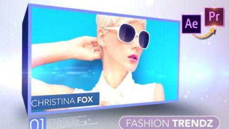 پروژه پریمیر با موزیک تبلیغات هنرمندان و بازیگران Fashion Trendz Premiere PRO