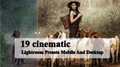 پریست لایت روم دسکتاپ و موبایل تم رنگ سینمایی cinematic Lightroom Presets Mobile And Desktop