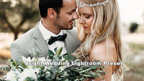 پریست لایت روم دسکتاپ و موبایل تم عروس Bright Wedding Lightroom Preset