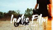 پریست لایت روم دسکتاپ و موبایل تم فیلم بالیود Indie Film Lightroom Presets