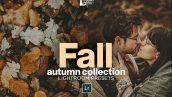 پریست لایت روم دسکتاپ و موبایل تم پاییز خزان FALL Autumn Collection LR Presets