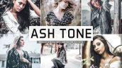 پریست لایت روم و پریست کمرا راو تم خاکستری Ash Tone Pro Lightroom Presets