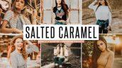 پریست لایت روم و پریست کمرا راو تم رنگ کارامل Salted Caramel Lightroom Presets Pack