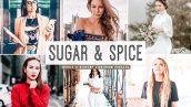 پریست لایت روم و پریست کمرا راو تم رویایی Sugar And Spice Lightroom Presets Pack