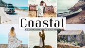 پریست لایت روم و پریست کمرا راو تم ساحلی Coastal Pro Lightroom Presets