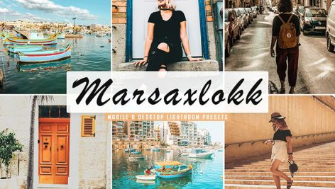 پریست لایت روم و پریست کمرا راو تم ماراکسلوک Marsaxlokk Lightroom Presets Pack