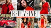 پریست لایت روم و پریست کمرا راو تم مخمل قرمز Red Velvet Lightroom Presets Pack