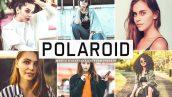 پریست لایت روم و پریست کمرا راو تم پلاروید Polaroid Lightroom Presets Pack