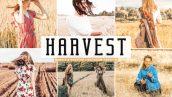 پریست لایت روم و پریست کمرا راو تم کشتزار Harvest Pro Lightroom Presets