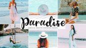 پریست لایت روم و Camera Raw و اکشن تم رنگ بهشت Paradise Mobile And Desktop Lightroom Presets