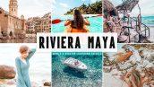 پریست لایت روم و Camera Raw و اکشن تم رنگ مدیترانه Riviera Maya Mobile And Desktop Lightroom Presets