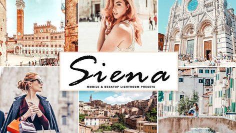 پریست لایت روم و Camera Raw و اکشن تم سیینا در ایتالیا Siena Mobile And Desktop Lightroom Presets