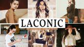 پریست لایت روم و Camera Raw و اکشن تم شکلاتی Laconic Mobile And Desktop Lightroom Presets