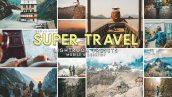 92 پریست لایت روم و پریست کمرا راو تم مسافرت Super Travel Preset Bundle