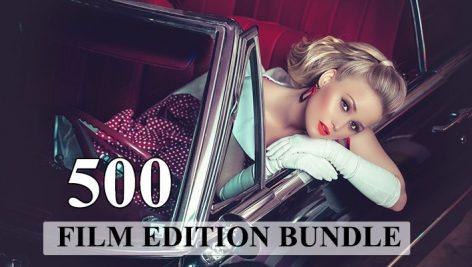 دانلود 500 پریست لایت روم سینمایی Film Edition Bundle Lightroom Presets