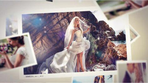 پروژه افترافکت اسلایدشو 3 بعدی عروسی Wedding Mist Slideshow