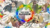 پروژه افترافکت با موزیک اسلایدشو افکت نقاشی Hand Drawn Slideshow