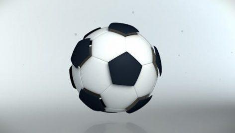 پروژه افترافکت لوگو با موزیک افکت توپ فوتبال Sport Logo Reveler Football