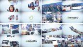 پروژه افترافکت لوگو با موزیک افکت نمایش عکس Corporate Photo Logo