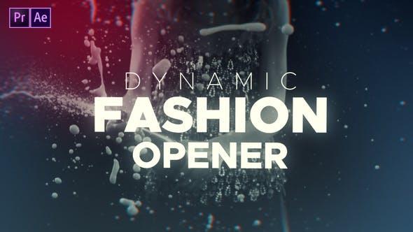 پروژه پریمیر با موزیک وله و تیتراژ آغاز فیلم Dynamic Fashion Opener