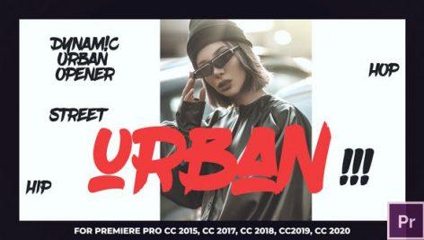 پروژه پریمیر با موزیک وله و تیتراژ مدرن Urban Intro Opener