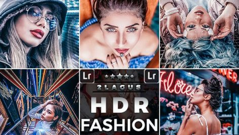 پریست لایت روم اچ دی ار پرتره HDR Fashion Portrait Presets Mobile and Desktop Lightroom