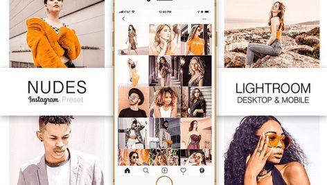 پریست لایت روم دسکتاپ و موبایل برای عکس اینستاگرام Nudes Instagram Lightroom Preset