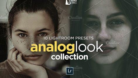 پریست لایت روم دسکتاپ و موبایل تم آنالوگ ANALOG LOOK Lightroom Presets Bundle