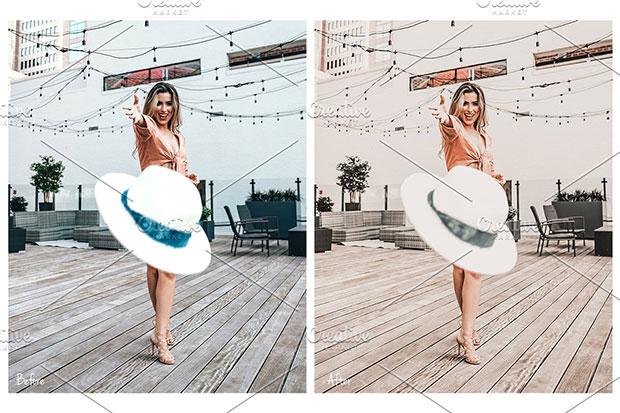 پریست لایت روم دسکتاپ و موبایل تم رنگی Alex Lightroom Preset