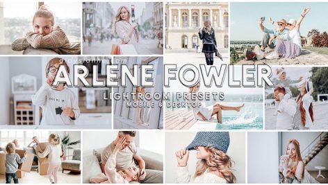 پریست لایت روم دسکتاپ و موبایل تم رنگی Arlene Fowler Lightroom Presets