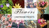 پریست لایت روم دسکتاپ و موبایل تم گل flowers lightroom presets