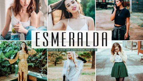پریست لایت روم و پریست کمرا راو تم اسمرالدا Esmeralda Lightroom Presets Pack