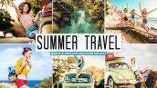 پریست لایت روم و کمرا راو و اکشن مسافرت تابستانی Summer Travel Mobile And Desktop Lightroom Presets
