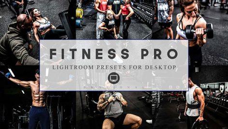 پریست لایت روم و Camera Raw تم بدنسازی Lightroom Presets Fitness Pro and ACR Camera raw