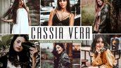پریست لایت روم و Camera Raw و اکشن تم دختر طبیعت Cassia Vera Mobile And Desktop Lightroom Presets