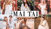 پریست لایت روم و Camera Raw و اکشن تم رنگ میوه Mai Tai Mobile And Desktop Lightroom Presets