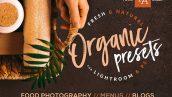 20 پریست لایت روم و پریست کمرا راو تم میوه ارگانیک Organic Food Presets for LR & PS