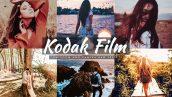 72 پریست لایت روم و پریست کمرا راو تم طبیعت Kodak Film Lightroom And ACR Presets