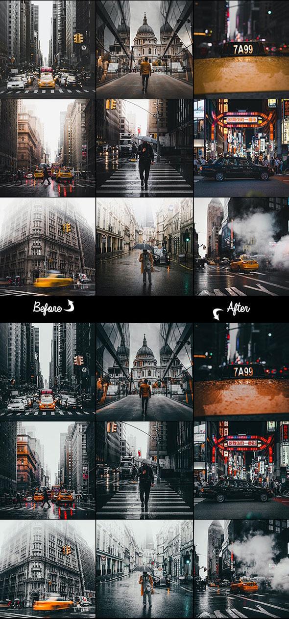 اکشن فتوشاپ زیبا سازی عکس Aesthetics Photoshop Action