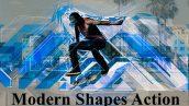 دانلود اکشن فتوشاپ افکت اشکال مدرن Modern Shapes Action