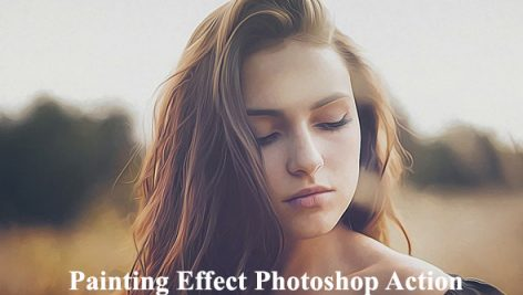 دانلود اکشن فتوشاپ افکت نقاشی Painting Effect Photoshop Action