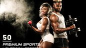 دانلود 50 پریست لایت روم ورزشی Premium Sports Lightroom Presets