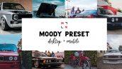 دانلود 8 پریست لایت روم وسایل نقلیه Moody Car Preset