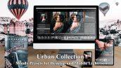 مجموعه پریست لایت روم دسکتاپ و موبایل Urban Collection Moody Presets Lightroom