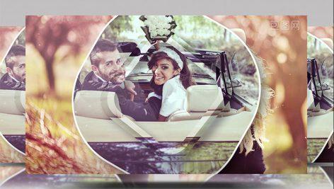پروژه افترافکت عروسی اسلایدشو Sunshine dynamic wedding photo Brochure commemorative day photo Brochure