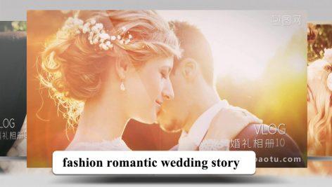 پروژه افترافکت عروسی با موزیک قصه عاشقانه fashion romantic wedding story