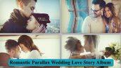 پروژه افترافکت پارالاکس آلبوم داستان عاشقانه عروسی Romantic Parallax Wedding Love Story Album